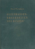 Wyssmann, Gliedmassenkrankheiten des Rindes