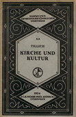 Tillich, Kirche und Kultur