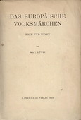Luethi, Das europaeischen Volksmaerchen