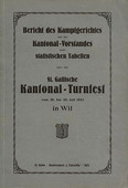 Kantonal-Turnfest, St. Gallen 1923