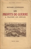 Lewinsohn, Les profits de guerre