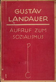 Landauer, Aufruf zum Sozialismus