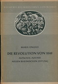 Marx / Engels, Die Revolution von 1848