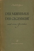 Oelssner, Der Marxismus der Gegenwart