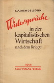 Mendelsohn, Widersprueche