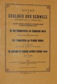 Beitraege, zur Geologie der Schweiz. Geotechnische Serie 16/2