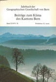 Aerni, Klima des Kantons Bern