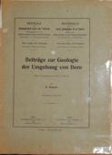 Beitraege, zur geologischen Karte der Schweiz [96]