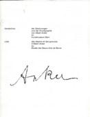 Verzeichnis, Zeichnungen und der Druckgraphik von Albert Anker