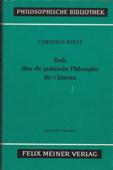 Wolff, Oratio de Sinarum philosophia practica