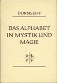 Dornseiff, Das Alphabet in Mystik und Magie
