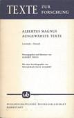 Albertus, Ausgewaehlte Texte