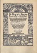 Erasmus, Ein Klag des Frydens
