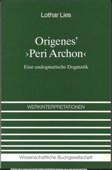 Lies, Origenes' Peri archon