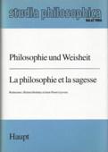 Holzhey / Leyvraz, Philosophie und Weisheit