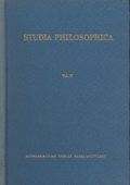Christoff / Saner, Studia philosophica [37]