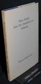 Broecker, Kant ueber Metaphysik und Erfahrung