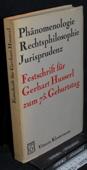 Husserl, Phaenomenologie, Rechtsphilosophie, Jurisprudenz