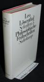 Loewenthal, Philosophische Fruehschriften