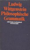 Wittgenstein, Philosophische Grammatik