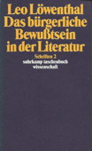 Loewenthal, Das buergerliche Bewusstsein
