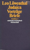 Loewenthal, Judaica, Vortraege, Briefe