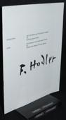 Ferdinand Hodler, Verzeichnis der Gemaelde