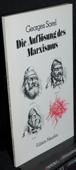 Sorel, Die Aufloesung des Marxismus