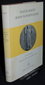 Festschrift, Hans R. Hahnloser