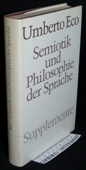 Eco, Semiotik und Philosophie der Sprache