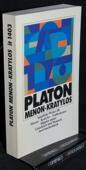 Platon, Menon, Kratylos