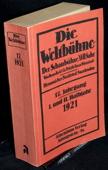 Die Weltbuehne, 1921