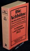 Die Weltbuehne, 1922