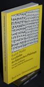Pfeiffer, Geschichte der klassischen Philologie