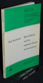Kussmaul, Bertolt Brecht und das englische Drama