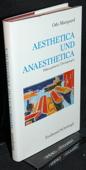 Marquard, Aesthetica und Anaesthetica