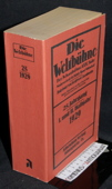 Die Weltbuehne, 1929