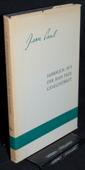 Jean-Paul-Gesellschaft, Jahrbuch 1971