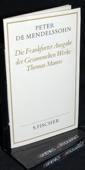 Mendelssohn, Die Frankfurter Ausgabe