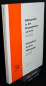 Bibliographie, Bibliographie zu den biographischen Archiven