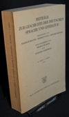 Beitraege zur Geschichte, der deutschen Sprache und Literatur. 95
