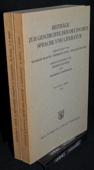 Beitraege zur Geschichte, der deutschen Sprache und Literatur 96