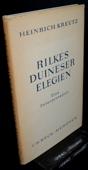 Kreutz, Rilkes Duineser Elegien