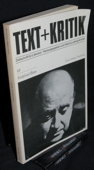 Text + Kritik, Gottfried Benn