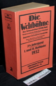 Die Weltbuehne, 1932