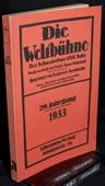 Die Weltbuehne, 1933