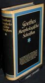 Goethe, Morphologische Schriften