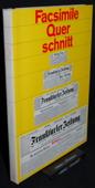 Facsimile, Querschnitt durch die Frankfurter Zeitung