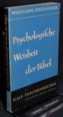 Kretschmer, Psychologische Weisheit der Bibel