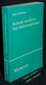 Luetteken, Heinrich von Kleist